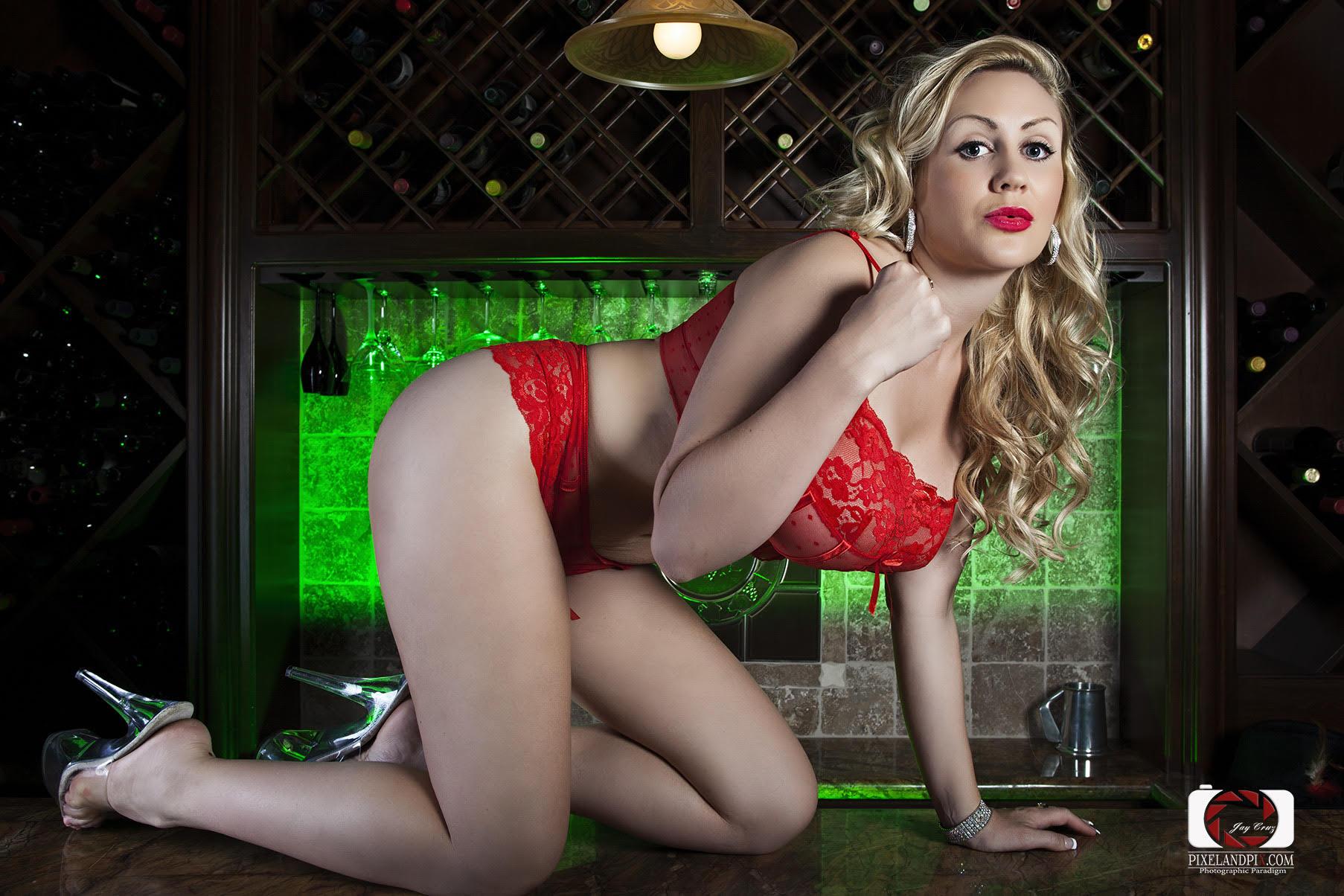 red lingerie 8