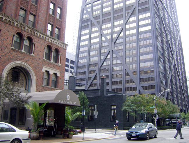 raffaello hotel chicago. Black Bedroom Furniture Sets. Home Design Ideas