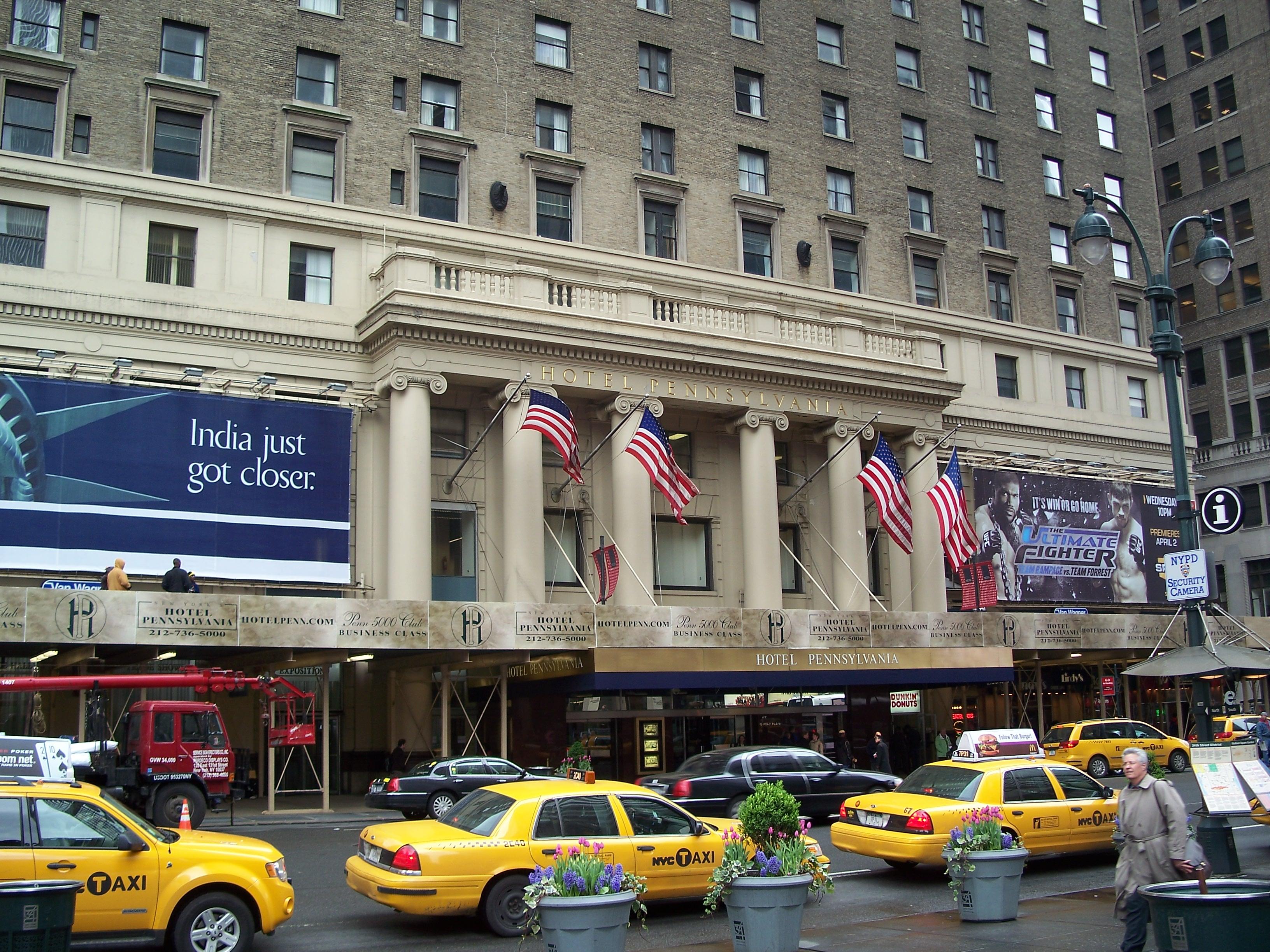 Hotel pennsylvania new york for 24 hour nail salon new york city