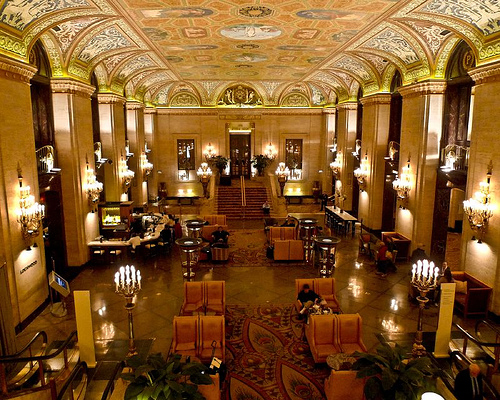 The Palmer House Hilton Chicago Il