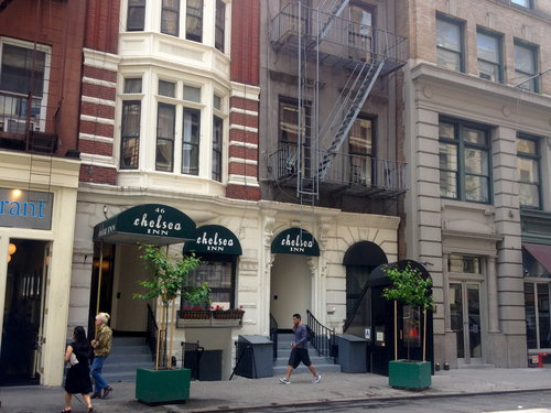 chelsea inn 17th street new york. Black Bedroom Furniture Sets. Home Design Ideas