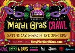 The World's Largest Indoor Bar Crawl presents MARDI GRAS CRAWL