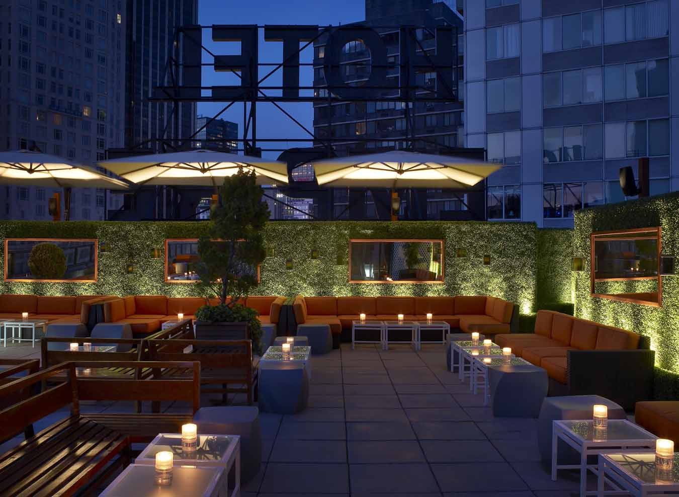 Empire hotel rooftop new york ny for Top of the terrace restaurant