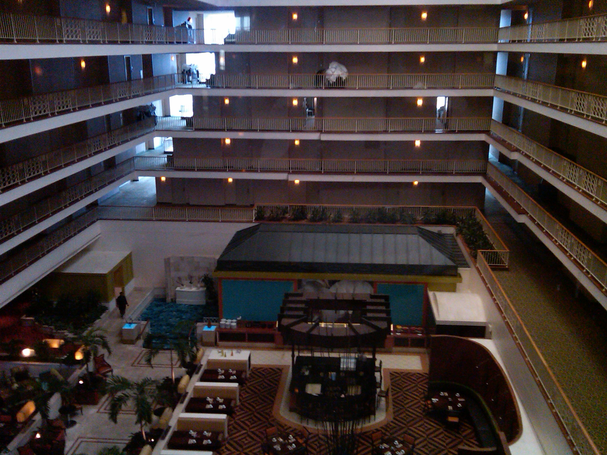 Renaissance Concourse Hotel Atlanta Georgia