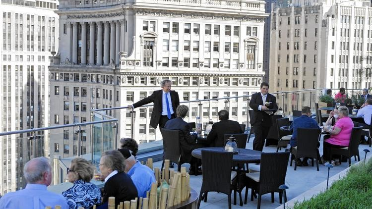 terrace at the trump tower