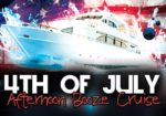 4th of July Afternoon Booze Cruise!